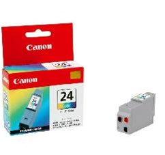 Canon BCI-24C Genuine Tri-Color Inkjet Ink Cartridge 6882A003AA