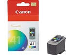 Canon CL-41 Genuine Tri-Color Inkjet Ink Cartridge 0617B002