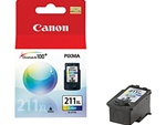 Canon CL-211XL Genuine Tri-Color Inkjet Ink Cartridge