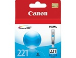 Canon CLI-221C Genuine Cyan Ink Cartridge 2947B001