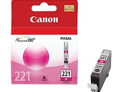 Canon CLI-221M Genuine Magenta Ink 2948B001
