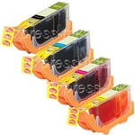 Canon CLI-221 4-Pack Ink Cartridge Combo 2946B004