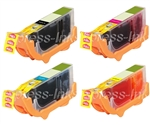 Canon CLI-226 4-Pack Compatible Ink Cartridge Combo