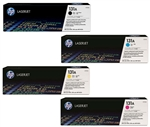 HP CF210A-3A 4-Pack Genuine Toner Cartridge Combo