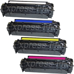 HP CF380X/ CF381A-3A Compatible Toner Cartridge Combo
