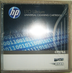 HP C7978A Ultrium LTO Universal Cleaning Cartridge