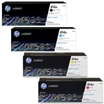 HP W2020A-3A (414A) Genuine Color Toner Cartridge Combo