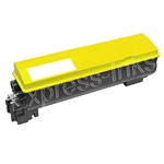 Kyocera Mita TK-562Y Compatible Yellow Toner Cartridge TK562Y