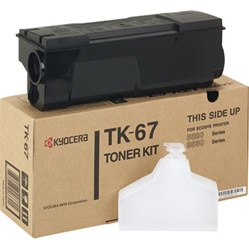 Kyocera Mita TK-67 Genuine Toner Cartridge TK67