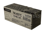 Kyocera Mita TK-827C Genuine Cyan Toner Cartridge