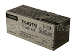 Kyocera Mita TK-827M Genuine Magenta Toner Cartridge