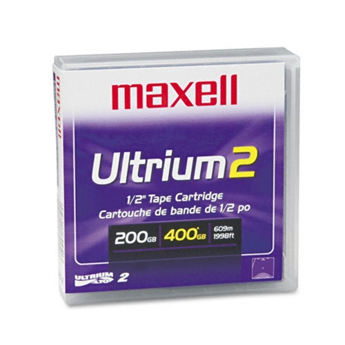 Maxell 183850 Ultrium LTO 2 Data Cartridge