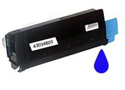 Okidata 43034803 Cyan Toner Cartridge