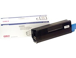 Okidata 43034804 Genuine Black Toner Cartridge