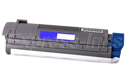 Okidata 43324419 Compatible C8 Cyan Toner Cartridge