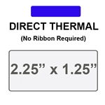 Zebra 10015341 Blue Direct Thermal Label Paper