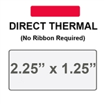 Zebra 10015341 Red Direct Thermal Label Paper
