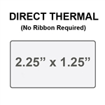 Zebra 10015341 Yellow Direct Thermal Label Paper