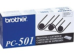 Brother PC501 Genuine Thermal Fax Ribbon Cartridge PC-501