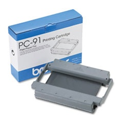 Brother PC-91 Genuine Thermal Fax Ribbon Cartridge PC91