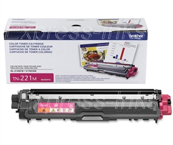Brother TN221M Genuine Magenta Toner Cartridge TN-221M