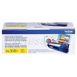 Brother TN310Y Genuine Yellow Toner Cartridge TN-310Y