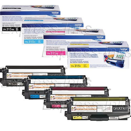 TN315 High Yield M Magenta Compatible Toner for