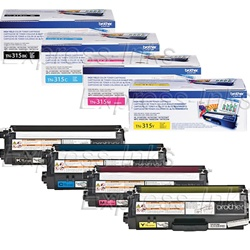 Brother TN315 Genuine Color Combo Toner Cartridges