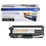 Brother TN315BK Genuine Black Toner Cartridge TN-315BK