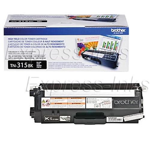 TN315BK Black Toner Cartridge High Yield 6,000 Yield Brother MFC-9970CDW