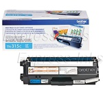 Brother TN315C Genuine Cyan Toner Cartridge TN-315C
