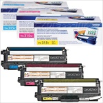 Brother TN315 3-Pack Genuine Color Toner Combo