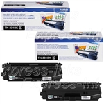 Brother TN331BK Genuine 2-Pack Black Toner Cartridges