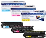Brother TN331 Genuine 3-Pack Toner Cartridge Combo
