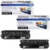 Brother TN336BK Genuine 2Pk Black Toner Combo