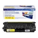Brother TN336Y Genuine OEM Yellow Toner Cartridge
