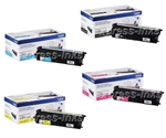 Brother TN431 4-Pack Genuine Toner Cartridge Combo