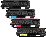 Brother TN433 4-Pack Compatible Toner Cartridge Combo
