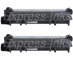Brother TN660 2-Pack Compatible Toner Cartridge