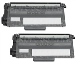 Brother TN750 2-Pack Compatible Toner Combo