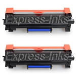Brother TN760 Compatible 2-Pack Toner Cartridge TN-760