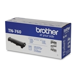 Brother TN760 Genuine Black Toner Cartridge TN-760
