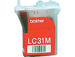 Brother LC31M Genuine Magenta Inkjet Ink Cartridge LC31-M