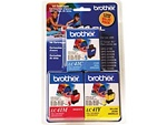 Brother LC41CLR3 3-Pack Ink Cartridges