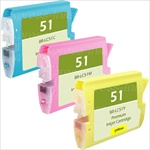 Brother LC51CL3PK Combo Ink/ Inkjet Cartridges