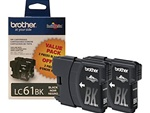 Brother LC612BKS Genuine Black Ink Cartridges