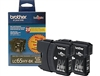 Brother LC652PK Genuine Black Inkjet Ink Cartridge Combo