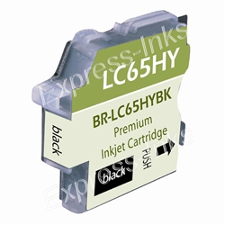 Brother LC65HYBK High Yield Black Inkjet Cartridge