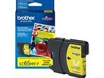 Brother LC65HYY Genuine Yellow Inkjet Ink Cartridge