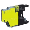 Brother LC75Y Compatible Yellow Ink Cartridge